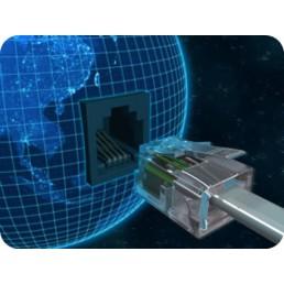 Internet a cabo e sem fio